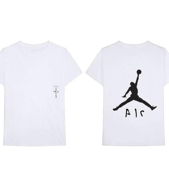 e27d103378a Nike Shirts | X Travis Scott Jordan Air T Shirt | Poshmark